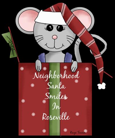Neighborhood Santa Roseville CA via Kaye Swain blogger caregiver real estate agent