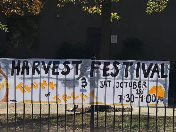 Fun Things to Do in Roseville CA include Harvest Festival and Turnk or Treat in Cherry Glen Theiles Manor Neighborhood