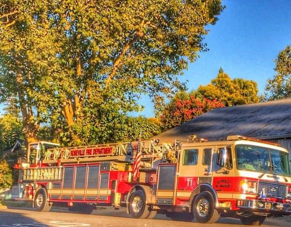Roseville fire department via Kaye Swain Roseville Real Estate Agent 1200