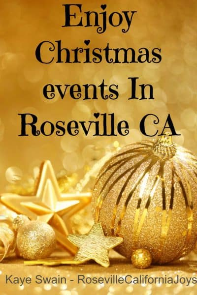 Sweet Joys Of Christmas Events In Roseville Ca Area