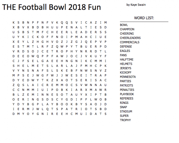 football super bowl word search puzzles for elderly to enjoy good brain food