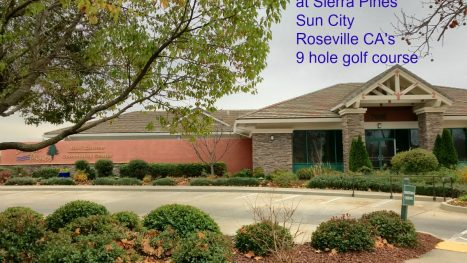 9 hole golf Sierra Pines Sun City Roseville CA