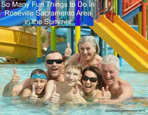Kaye Swain sharing Multigenerational summer fun things do for grandkids to grandparents wee ones to Roseville seniors Summer 2018
