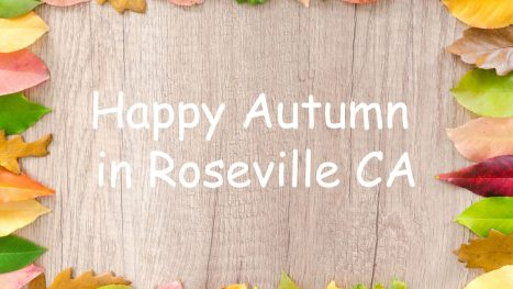 2019 Autumn Holiday Activities in Roseville CA