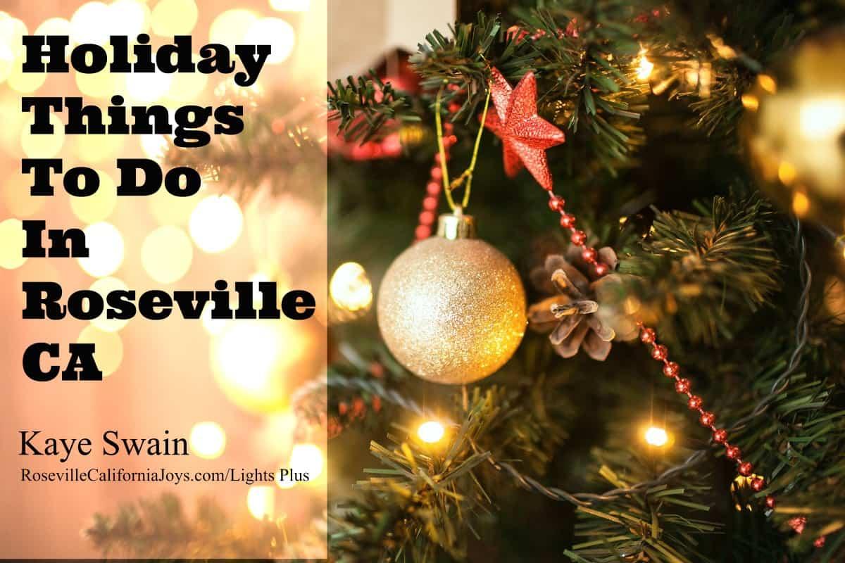 Christmas Lights 2020 Roseville Calif Christmas Lights in Roseville CA [Also Christmas Music And More