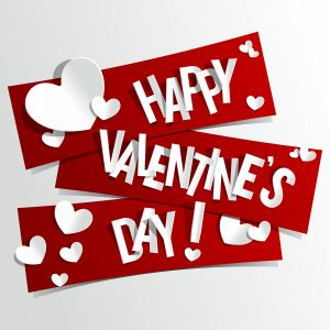 Roseville REALTOR Kaye Swain saying Happy Valentines Day