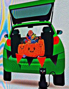 Trunk or Treat fall things to do in Roseville California