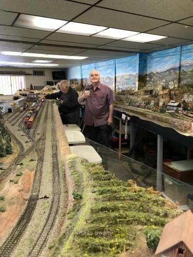 Roseville Roundhouse Model Railroad Club Visit 41