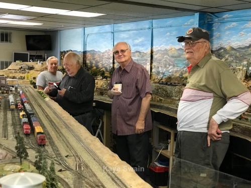 Roseville Roundhouse Model Railroad Club Visit 46
