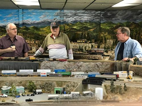 Roseville Roundhouse Model Railroad Club Visit 53