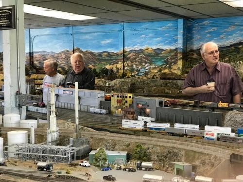 Roseville Roundhouse Model Railroad Club Visit 54