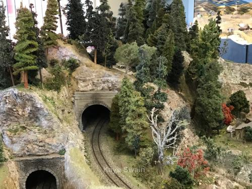 Roseville Roundhouse Model Railroad Club Visit mountain tunnel