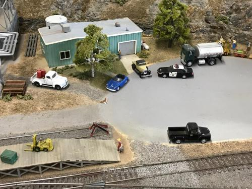 Roseville Roundhouse Model Railroad Club police and other cars  11